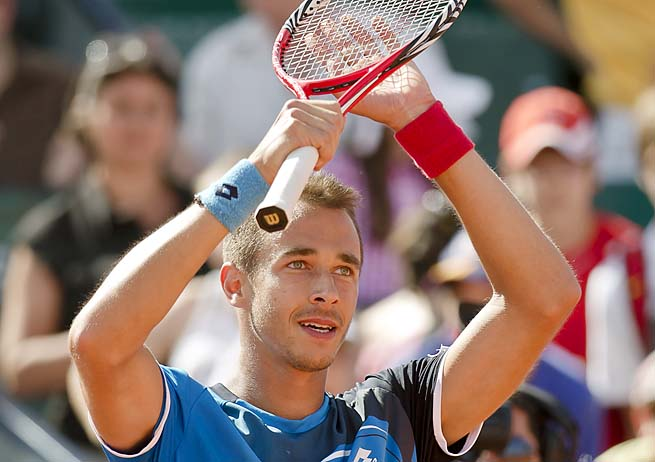 Lukas Rosol is best known for beating Rafael Nadal at Wimbledon last year.