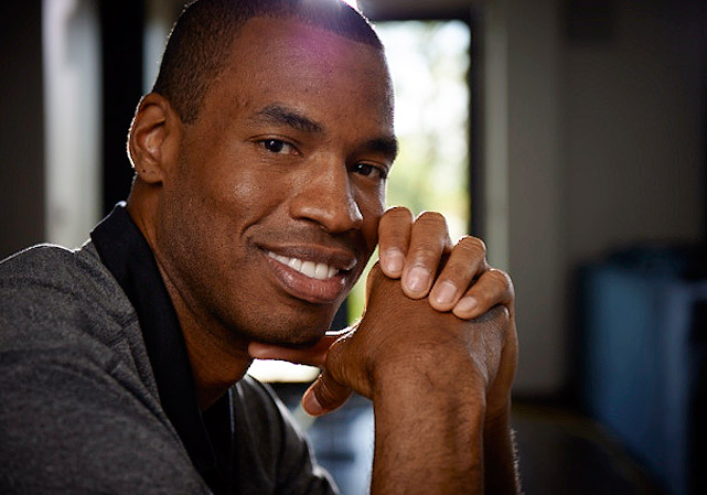 """""""I didn't set out to be the first openly gay athlete playing in a major American team sport,"""" Jason Collins said. """"But since I am, I'm happy to start the conversation."""""""