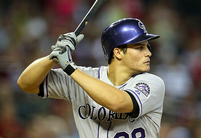 Nolan Arenado, who made his major league debut April 28, was hitting .364/.392/667 in the minors.