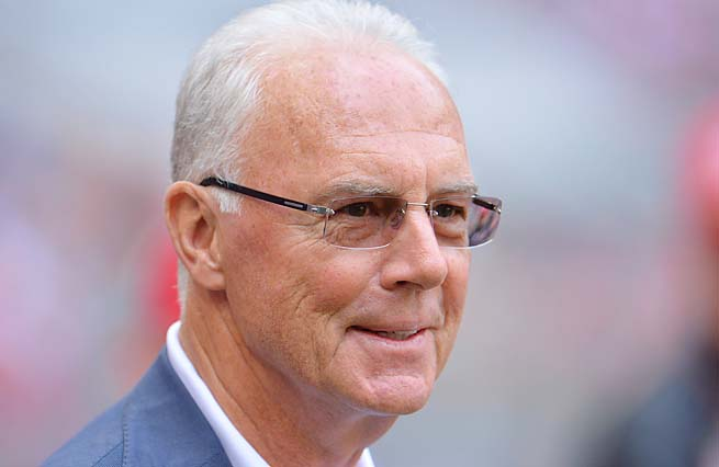 Franz Beckenbauer made more than 400 appearances with Bayern Munich.