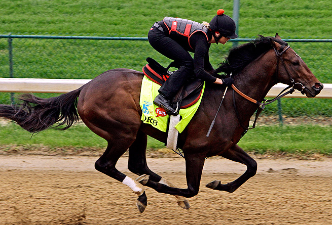 Orb, trained by Hall of Famer Shug McGaughey, claimed three straight wins at Gulfstream Park,