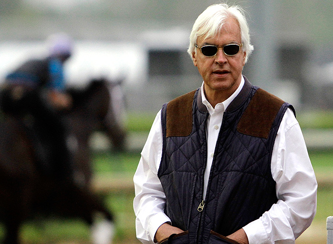 For the first time since 2008, trainer Bob Baffert will not have a horse running in the Kentucky Derby.