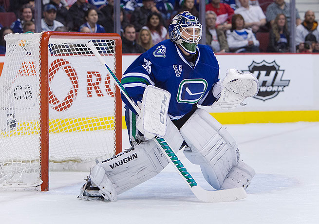 Cory Schneider was slated to be Vancouver's playoff starter, but his availability is still in doubt.