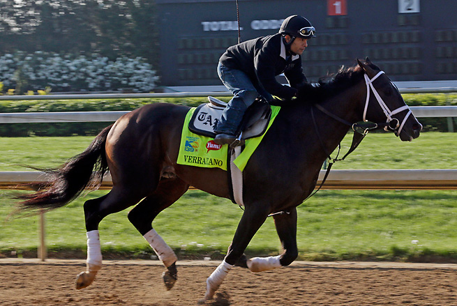 Verrazano is arguably the best of Todd Pletcher's five horses in a 21-horse Kentucky Derby field.