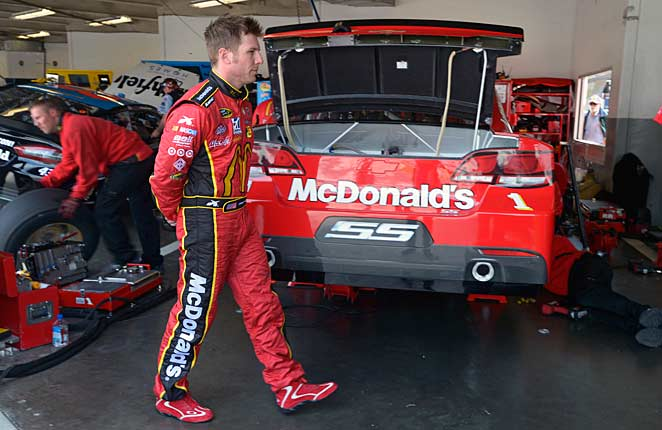 Despite a lack of success on the track, Jamie McMurray is happy with his life.