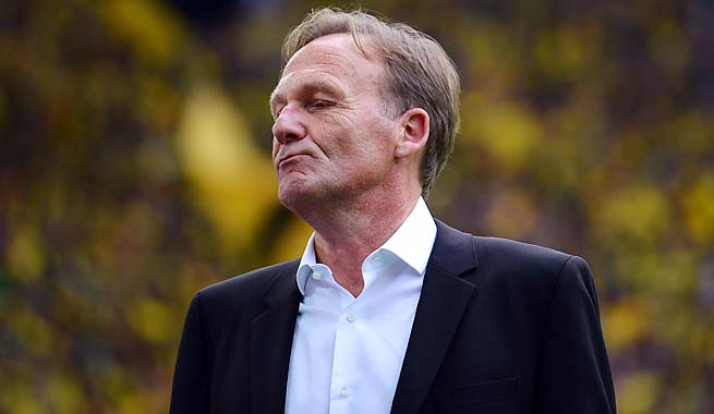 """There won't be any lunch with Bayern, just a handshake,"" Hans-Joachim Watzke said."