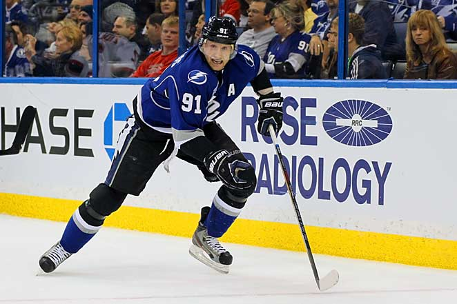 Team Canada's Steven Stamkos is one of the stars coming in after the NHL's grueling short season.