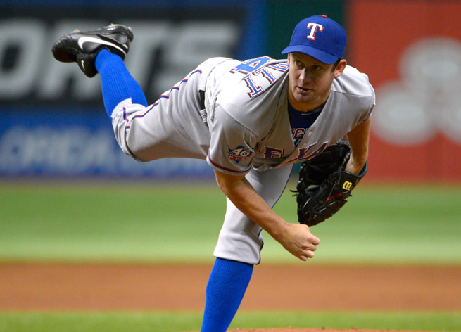 Roy Oswalt spent last season with the Rangers, going 4-3 in 17 games with a 5.80 ERA in 59 innings.