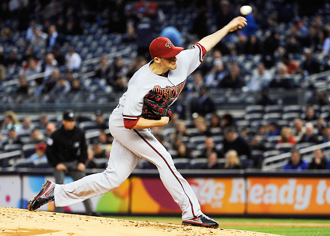 Arizona's Patrick Corbin remains widely available despite boasting a 1.91 ERA and 1.06 WHIP.