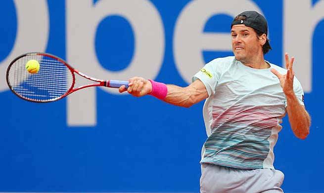 Tommy Haas is enjoying a resurgent year, having beaten Novak Djokovic.