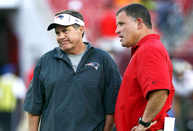 Bill Belichick's and Greg Schiano's teams will meet during week 3 of the season this year.