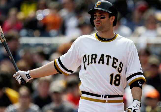A cut on his right hand landed Pirates' second baseman Neil Walker on the disabled list.
