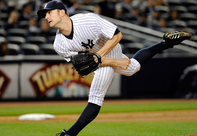 David Robertson injured his left leg running to cover first base in an appearance against Houston.