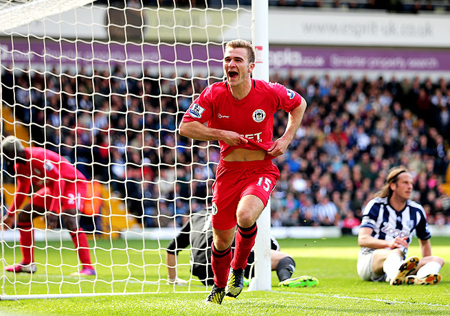 Callum McManaman's match-winning goal could prove crucial if Wigan succeed in avoiding relegation.