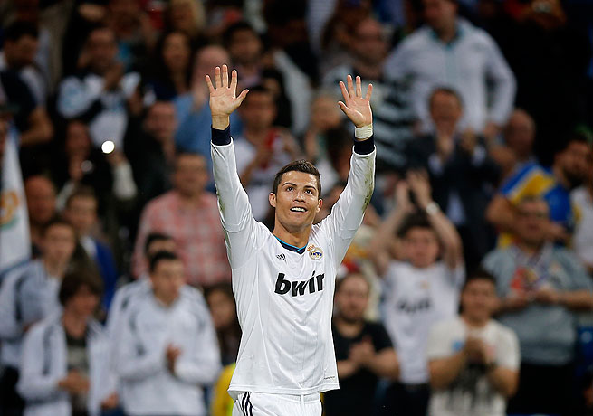 Cristiano Ronaldo notched his 32nd and 33rd goals of the La Liga campaign in Real Madrid's triumph.