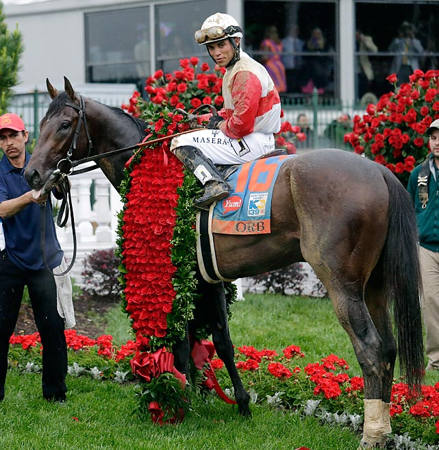 Rosario won the Derby in his second appearance in the race. He finished fourth in 2010 while riding Make Music For Me.