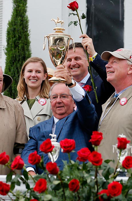 The victory was also the frist Kentucky Derby triumph for Hall of Fame trainer Shug McGaughey.