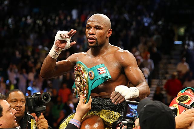Mayweather reportedly earned $32 million for the bout.