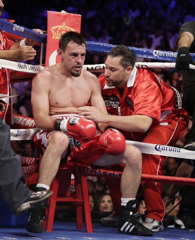 Guerrero hadn't lost in eight years, and vowed to be the first to beat Mayweather. He fell woefully short.