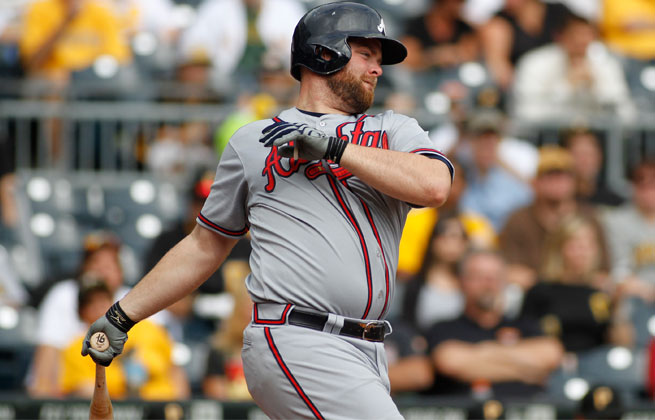 Brian McCann had surgery to repair a torn labrum in his right shoulder last October.
