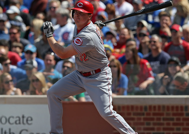 Jay Bruce has had a tough start to the season, but don't let that sour you on his power potential.