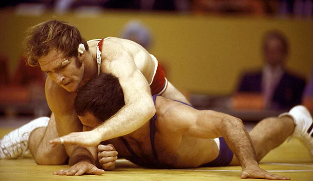 The only lapse in Gable's storied career came in the NCAA final in 1970. That loss marred an otherwise perfect 118-1 collegiate record. The Iowa State star won two NCAA titles and added an Olympic gold medal in 1972. His coaching career also ranks among the best ever. He led Iowa to 15 national champions, including nine straight from 1978 to 1986, during 21 seasons as head coach.