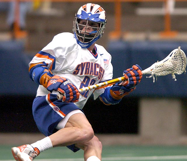 Mikey donned the No. 22 jersey worn by his older brothers and other Syracuse legends, including Gary Gait. Then he lived up to the expectations. Powell is the only four-time winner of the Jack Turnball Award as best attackman. He was also a four-time All-America, two-time winner of the Tewaaraton Trophy as player of the year and led Syracuse to two national titles. He edges Gait for a spot on this list.