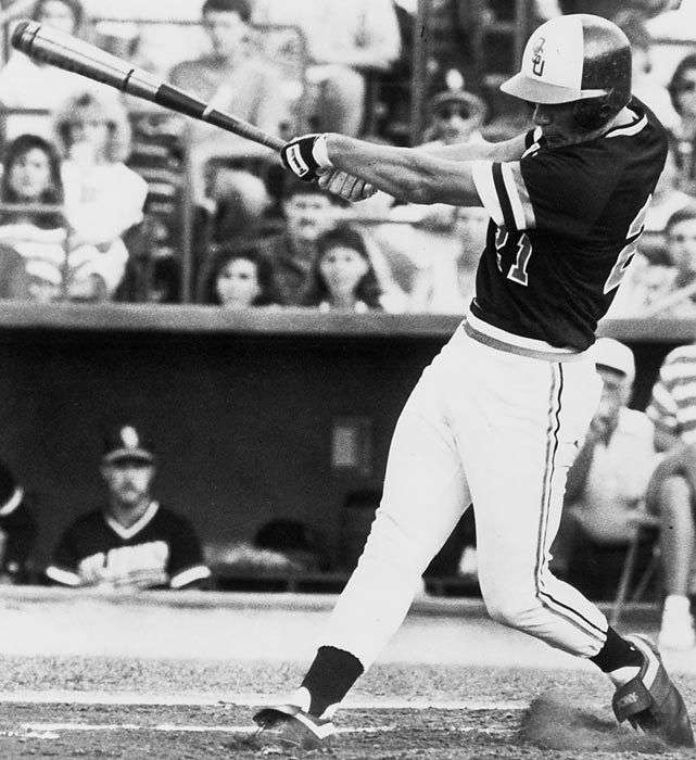 A member of the College Baseball Hall of Fame's inaugural class, Ventura was an All-America selection all three seasons at Oklahoma State. He hit .469 as a freshman and led the nation with 96 RBI. He was Baseball America's Player of the Year as a sophomore and set a record 58-game hitting streak. In his final year with the Cowboys, Ventura won the Golden Spikes Award after hitting .391 with 26 homers.
