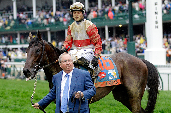 After winning the Kentucky Derby with Orb, trainer Shug McGaughey is aiming for a Preakness win.