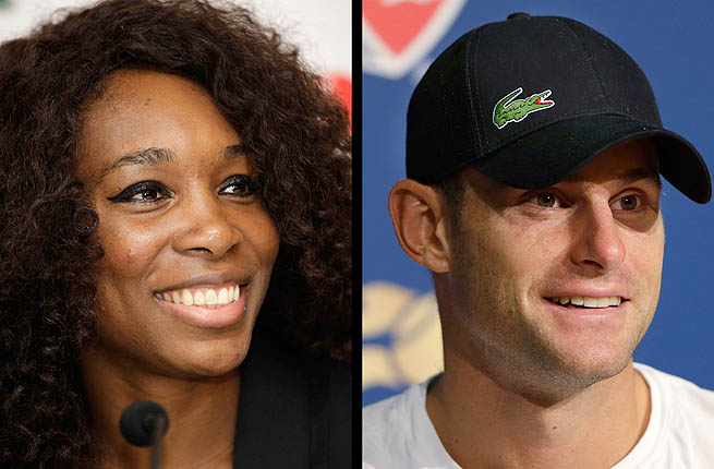 Venus Williams and Andy Roddick will become part owners of Billie Jean King's summer league.