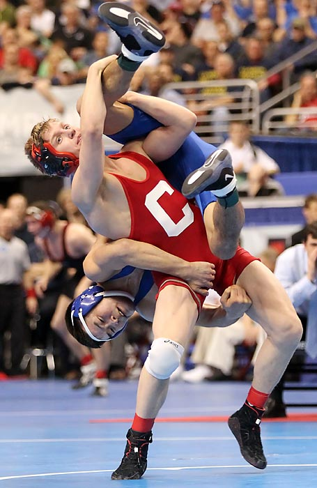 Notable: Won an incredible four national titles in four different weight classes, while also being named a three-time academic All-American at Ivy League, Cornell.