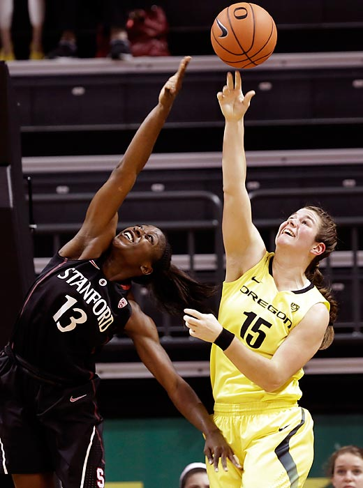 Notable: Became the Ducks' first three-sport female athlete since 1976, all while maintaining an impressive 3.07 GPA in psychology and being active in the community.