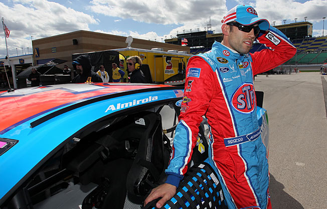 Aric Almirola's strong finish last year in Sprint Cup has carried over into this year