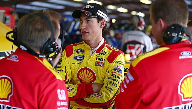 Joey Logano will have a new crew chief for Saturday night's race at Darlington.
