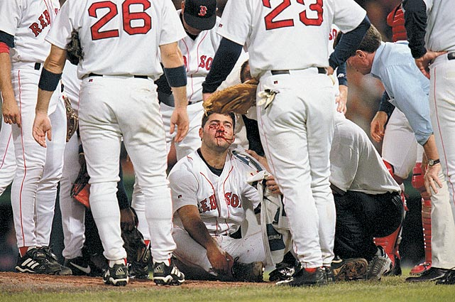 A Red Sox reliever, Bryce Florie suffered a frightening injury when he was hit by a line drive from the Yankees' Ryan Thompson. Florie suffered a broken cheekbone and orbital socket and eye damage and needed emergency surgery.