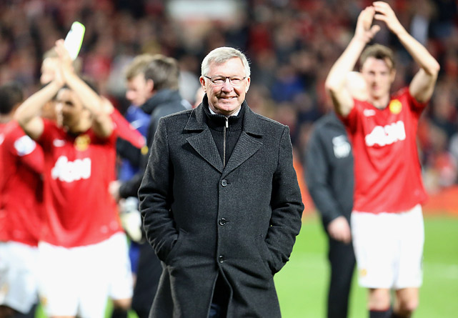 Manchester United manager Sir Alex Ferguson announced his retirement on May 8, ending a legendary career that included 13 English league titles, five FA Cups and two UEFA Champions League trophies in 26 seasons with the club.