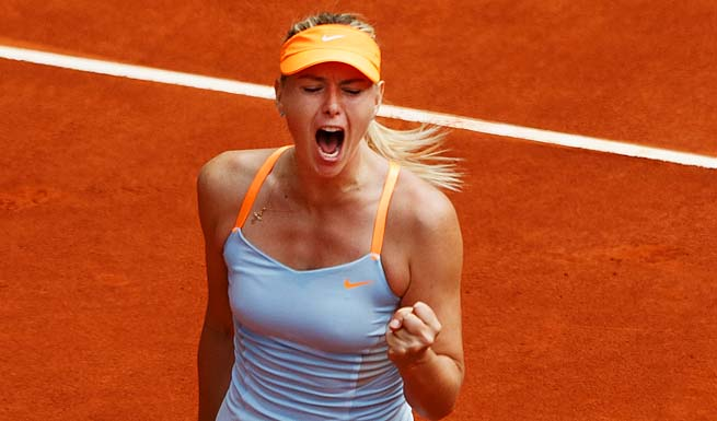 Maria Sharapova will face the Daniela Hantuchova-Kaia Kanepi winner in the quarterfinals.