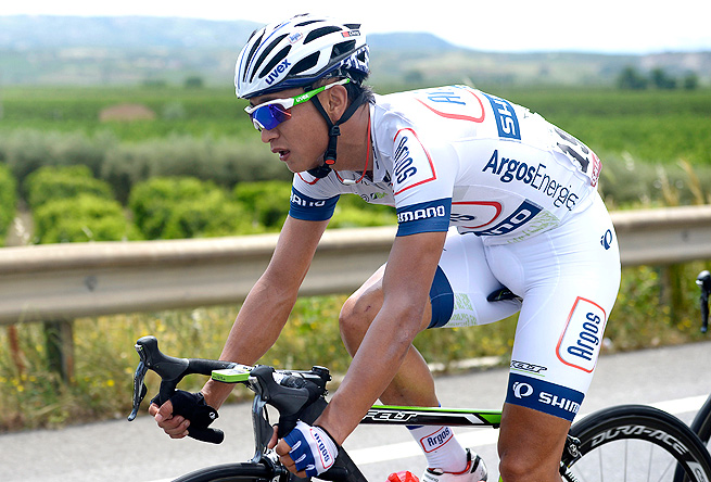 Last year, Ji Cheng became the first Chinese cyclist to finish the Spanish Vuelta.
