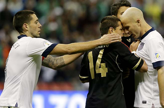 Clint Dempsey, Michael Bradley and the U.S. national team play Belgium next in a May 29 friendly.