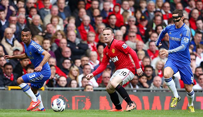 Wayne Rooney, while England's most recognizable player, has been overshadowed by Robin van Persie at United.