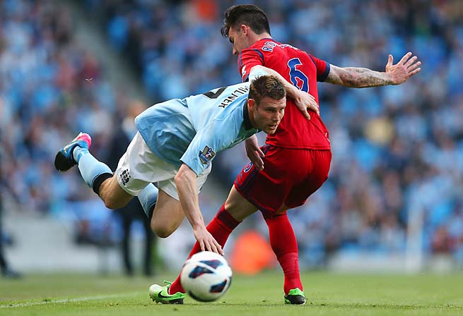 James Milner and Manchester City were eliminated in the Champions League group phase.