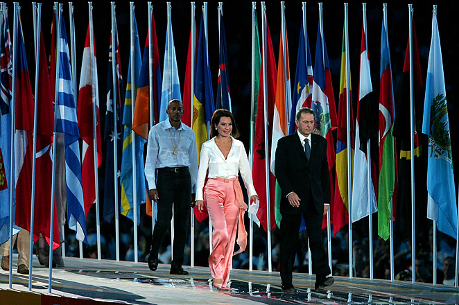 Angelopoulos led the Athens Olympic bid and Organizing Committee, and is now a convening sponsor with the Clinton Global Initiative.