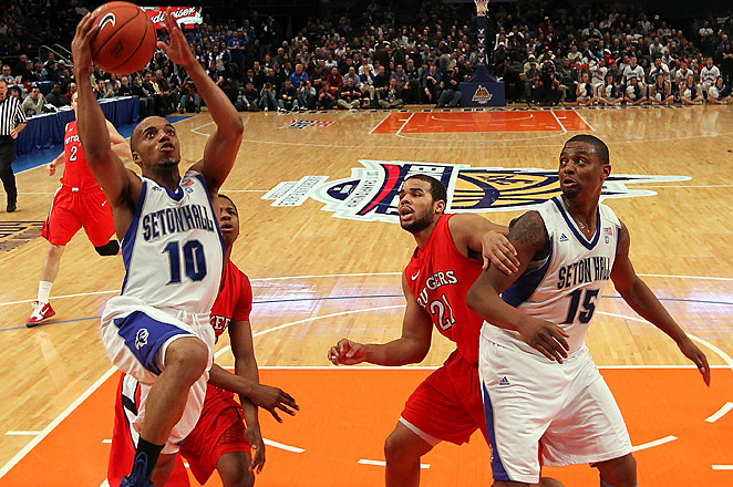 The shake up in the Big East won't stop Rutgers and Seton Hall from continuing their rivalry.