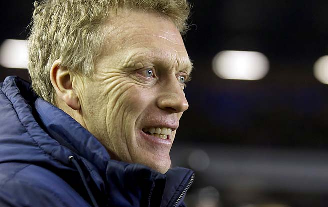 Scotsman David Moyes, 50, has coached Everton since 2002.