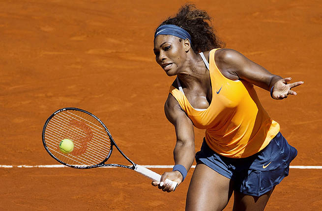Serena Williams is 12-2 against Maria Sharapova lifetime, while Sharapova is 10-0 in Madrid thus far.