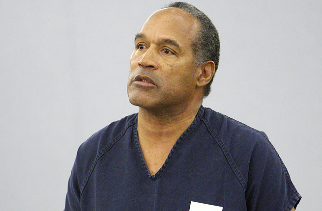 O.J. Simpson speaking during his 2008 sentencing at the Clark County Regional Justice Center in Las Vegas.