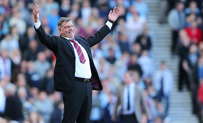 Sam Allardyce led West Ham United to 10th in the Premier League in their first season after promotion.