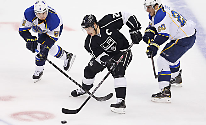Dustin Brown and the Kings have won five straight playoff series.