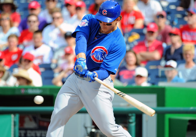 Anthony Rizzo is hitting .280 with nine home runs for the Cubs in his second big-league season.