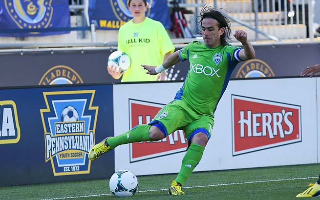 Mauro Rosales and the Sounders are unbeaten in their last five matches.